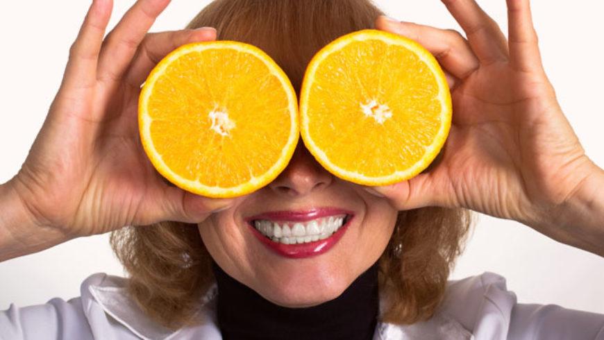 A saúde ocular e a alimentação
