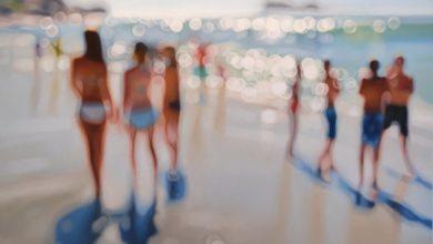 Artista pinta como as pessoas com miopia veem o mundo em 29 pinturas a óleo