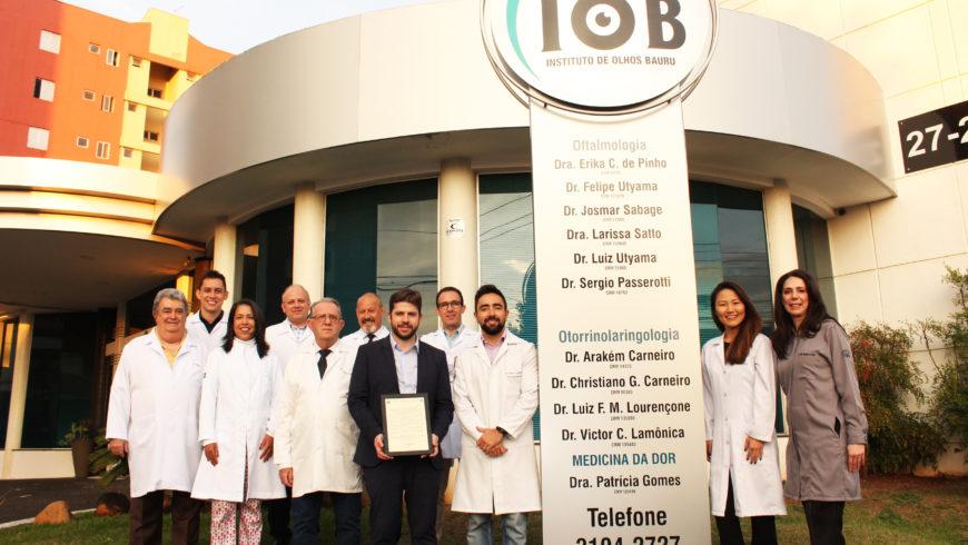 IOB recebe moção de aplauso pelos seus 15 anos